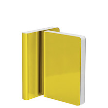 Nuuna Shiny Starlet S High Gloss Metallic Cover Notebook Yellow