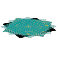 OLFA RM-12S Self-Healing 12 Inch Rotating Cutting Mat