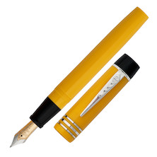 Onoto Magna Classic Fountain Pen Yellow Plain