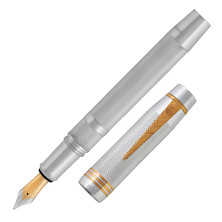 Onoto Magna Classic Fountain Pen Sterling Silver Limited Edition