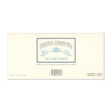 Original Crown Mill Vellum Lined Envelopes C6/5 (DL)