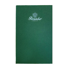 Pineider Hardcover Notebook Green Promotion
