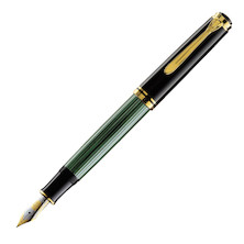 Pelikan Souveran M1000 Fountain Pen Black / Green
