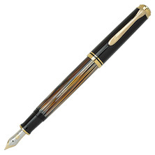 Pelikan Souveran M400 Fountain Pen Tortoiseshell Brown