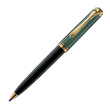 Pelikan Souveran K300 Ballpoint Pen Black and Green