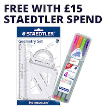Staedtler Geometry Set and Fineliner Promotion
