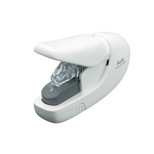 PLUS Staple-Free Hand Stapler White