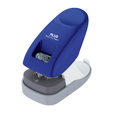 PLUS Staple-Free Desk Stapler Blue