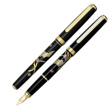 Platinum Modern Maki-e Fountain Pen Phoenix