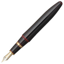 Platinum Izumo Urushi Lacquer Fountain Pen Red