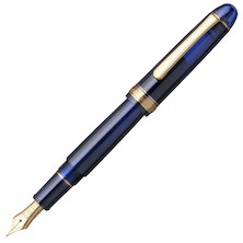 Platinum #3776 Century Fountain Pen Chartres Blue