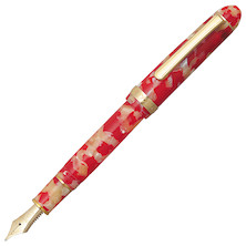 Platinum #3776 Century Fountain Pen Celluloid Red