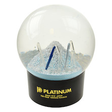 Platinum Snow Globe