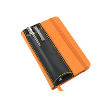 Quiver Double Pen Holder for A6 Notebooks