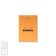 Rhodia Head-Stapled Notepad No.10 52 x 75 Orange