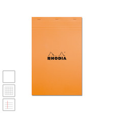 Rhodia Head-Stapled Notepad No.19 A4+ (210 x 318) Orange