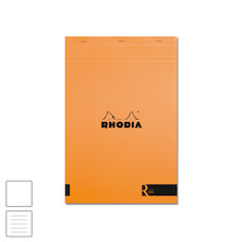 Rhodia R Head-Stapled Notepad No.19 A4+ (210 x 295) Orange