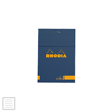 Rhodia R coloR Head-Stapled Notepad No.12 (85 x 120)