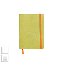 Rhodia Rhodiarama Softcover Notebook A6 (105 x 148) Anise Green