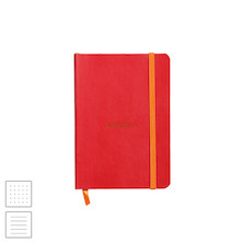 Rhodia Rhodiarama Softcover Notebook A6 (105 x 148) Poppy