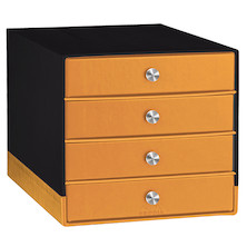 Rhodia 4-Drawer Storage Box