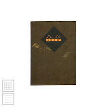 Rhodia Heritage Sewn Spine Notebook Chevron A5