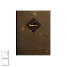 Rhodia Heritage Sewn Spine Notebook Chevron 190x250