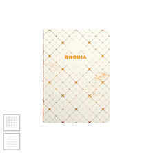 Rhodia Heritage Raw Bound Notebook Quadrille A5