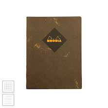 Rhodia Heritage Raw Bound Notebook Chevron 190x250