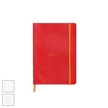 Rhodia Rhodiarama Softcover Notebook A5 (148 x 210) Poppy