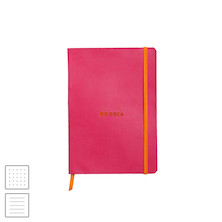 Rhodia Rhodiarama Softcover Notebook A5 (148 x 210) Raspberry