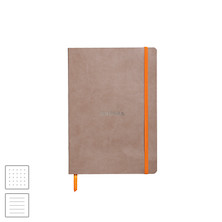 Rhodia Rhodiarama Softcover Notebook A5 (148 x 210) Taupe
