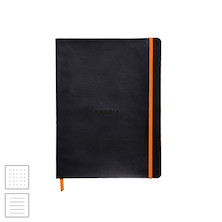Rhodia Rhodiarama Softcover Notebook (190 x 250) Black