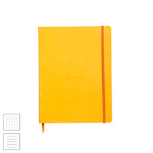 Rhodia Rhodiarama Softcover Notebook (190 x 250) Daffodil Yellow