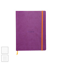 Rhodia Rhodiarama Softcover Notebook (190 x 250) Purple
