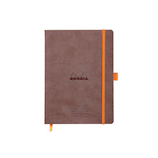 Rhodia Rhodiarama Meeting Book A5 Chocolate