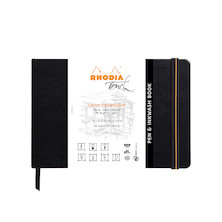 Rhodia Touch Pen & Inkwash Book Hardcover A5