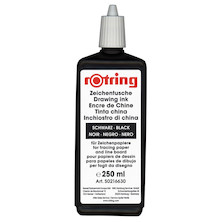 rotring Drawing Ink 250ml Black