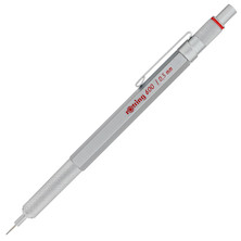 rotring 600 Drafting Pencil Silver