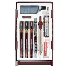 rotring isograph Technical Drawing Pen Master Set