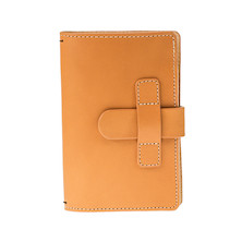 Cult Pens Ruitertassen Leather Notebook Cover 90x140mm Natural