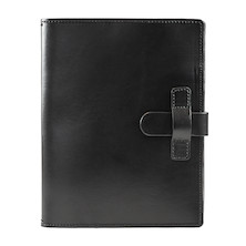 Cult Pens Ruitertassen Leather Notebook Cover A5 Black