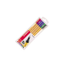 STABILO point 88 Fineliner Pen Assorted Wallet of 6