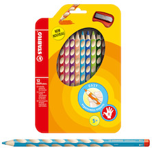 STABILO EASYcolors Pencil Wallet of 12