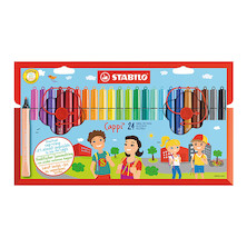 STABILO Cappi Colouring Pens Set of 24