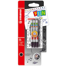 STABILO Fun Rollerball Refill Set of 3