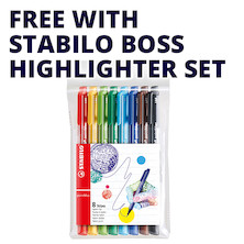 STABILO pointMax Colouring Pen Wallet of 8 Assorted Promotion