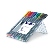 Staedtler Triplus Rollerball Pen Box of 10