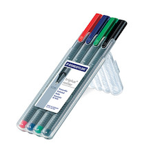 Staedtler Triplus Rollerball Pen Box of 4