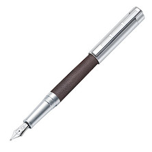 Staedtler Initium Corium Simplex Fountain Pen Brown Leather